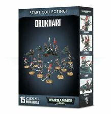 START COLLECTING! DRUKHARI  Warhammer 40,000 NEW & SEALED 40K BNIB