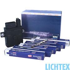 BERU Glühsteuergerät GSE102 0522140701 6 Zylinder BMW + 6 Glühkerzen NEU