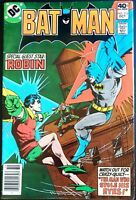 BATMAN Issue 316 FN Crazy Quilt Origin 1979 DC COMICS Robin