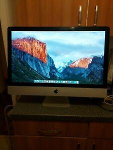 "Apple Imac A1312 intel core Duo 2 HDD 1TB 4GB  27"" (2009)"