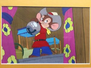 GENUINE AN AMERICAN TAIL ANIMATION ART PRODUCTION CEL