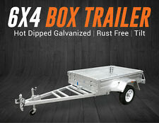 6x4 Trailer | Box Trailer | Hot Dipped Galvanised | Rust Free | Tilt | Brisbane