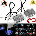 2pcs 6th Gen Projector Laser LED Door Welcome Step Shadow Logo Light For All Car