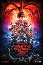 Stranger Things 24 X 36 inch Character Collage Television Series Poster Netflix