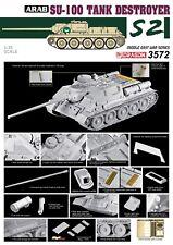 1/35 Dragon Egyptian Su-100 Tank Destroyer- The Six Day War #3572