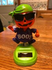 Solar Powered Dancing Toy Bobblehead New 2019-  HALLOWEEN - Cool Pumpkin Boy