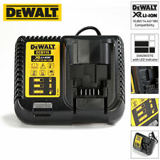 DeWalt DCB115-GB XR Multi Voltage Li-Ion Battery Charger 10.8V, 14.4V & 18V