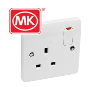 MK 13A 1G DP SWITCHSOCKET X7