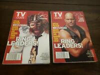 TV Guide Mar 27 - Apr 4,1999 WWF Stone Cold Steve Austin & Mankind 2 of 4 Covers