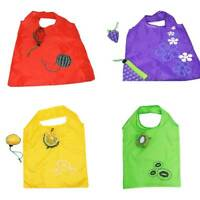 Foldable Reusable Eco Nylon Shopping Bag Grocery Bags Tote Handbag