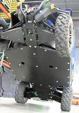 Polaris General skid plate with rockers UHMW SSS Off Road