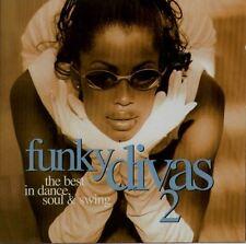 FUNKY DIVAS 2 DOUBLE CD DJ DISCO PARTY COLLECTION