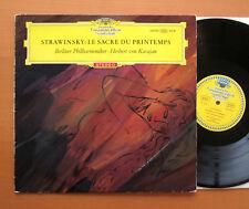 SLPM 138 920 Stravinsky Le Sacre Du Printemps Karajan TULIP RED STEREO NM/VG