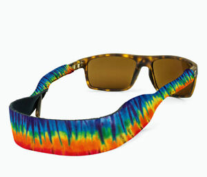 Croakies Original Tie Dye Print Eyeglass XL Retainers Fits Large Frames 5mm-11mm