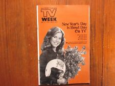 Dec-1978 Lancaster Pa TV Magaz(CATHERINE GILMOUR/LINDSAY WAGNER/THE BIONIC WOMAN