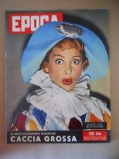 EPOCA n°281 1956 Martine Carol - Il mistero Yacht Joyita Mary Pickford  [G770]