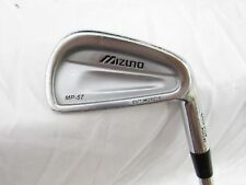 Used RH Mizuno MP-57 Single 4 Iron - Dynamic Gold Steel S300 Shaft Stiff S-Flex
