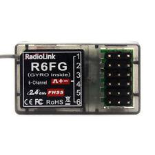 RadioLink R6FG 6Ch 2.4GHz Gyro RC Receiver FHSS Suit TX RC6GS RC4GS RC3S T8FB US