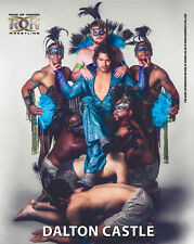Official ROH Ring of Honor Dalton Castle UK 8x10