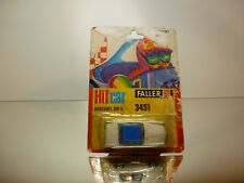 FALLER HIT CAR 3451 MERCEDES BENZ 280 SL  - WHITE 1:60? - GOOD IN CARD-BLISTER