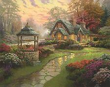 Schmidt-spiele 58463 Puzzle Thomas Kinkade Haus mit Brunnen