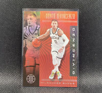 Donte Divincenzo 2019-20 Illusions Ruby Numbered 122/199 #6 Milwaukee Bucks