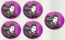 5 x GATSBY HAIR STYLING WAX ULTIMATE AND SHAGGY GEL JAPAN 75 g.