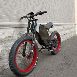 "High Power 48V-72V / 3000 -15000W / 29-53Ah Long Range 26"" Electric Bike"