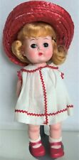 "Block Doll 10"", Original Outfit & Barrettes, Walker, Little Miss Addie?"