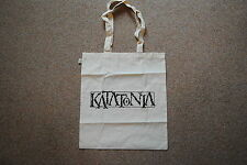 KATATONIA LOGO TOTE BAG x 2 NEW OFFICIAL DEAD END KINGS NIGHT IS THE NEW DAY