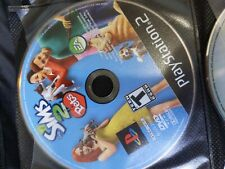 The Sims 2 Pets (Sony PlayStation 2, 2006) PS2 Disc Only