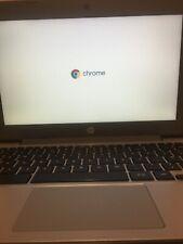 HP 11-v001na 11.6 Inch Chromebook Chrome OS 16gb eMMC 4gb RAM Grey