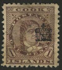 Cook Islands   1901   Scott # 26    USED