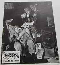 Photo exploit cinéma 1941 BIG STORE HERMANOS MARX BROTHERS TIENDA DE LOCOS 6