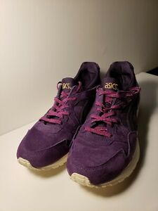 ASICS GEL LYTE V 5 Running Purple Suede  HL7E6 Shoes Size 8.5 Women's CLEAN