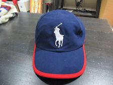 NEW Ralph Lauren Polo 2015 US Open Hat Cap Blue Red Big Pony Tennis RLX RARE