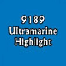 Reaper Master Series Paint 09189 Ultramarine Highlight D&D FOW Warhammer NOS