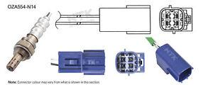 NGK NTK Oxygen Lambda Sensor OZA554-N14 fits Nissan Pulsar 1.6 (N16)