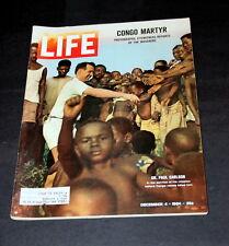BELGIAN CONGO MARTYR PHOTOS OF MASSACRE DECEMBER 4 TH 1964 LIFE MAGAZINE