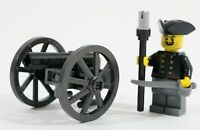 LEGO PIRATES IMPERIAL PRUSSIAN CANNON & SOLDIER MINIFIGURE -MADE OF GENUINE LEGO