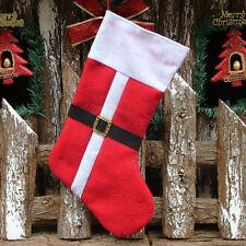 Large Size Christmas Santa Stocking Bags Gift Bags Xmas Tree Decoration 2018