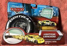Disney Pixar ~ CARS Lightyear Launchers ~ Sidewall Shine No. 74 ~ NEW on Card