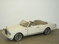 1992 Rolls Royce Corniche IV - Franklin Mint 1:24 *42042