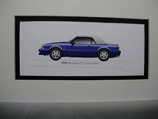 1991  Ford Mustang GT  Convertible From  50 Year Anniversary Exhibit by artist