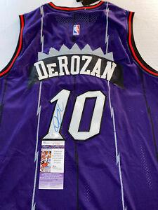 Demar Derozan Autographed/Signed Jersey Jsa Sticker Toronto Raptors