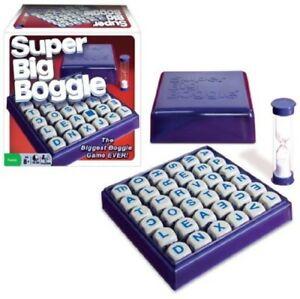 SUPER BIG BOGGLE (Board Game) - New& boxed