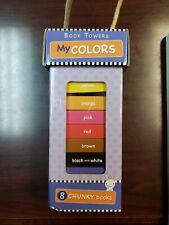 New My Colors Book Tower Nib Teach kids colors, stackable