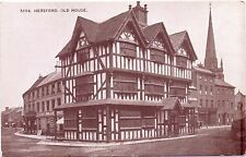 Postcard The Hereford OLD HOUSE - City County Dining Refreshments - Rooms To Let
