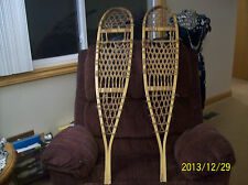 Snow Shoes Vintage Wicker Design  Northwood Made By Safesports (Back Country)