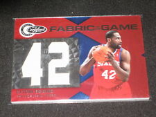 Elton Brand 76ers Certified Authentic Game Used Jersey Basketball Card #133/299